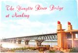 "SCARCE 1970 CHINA / CHINESE UNUSED POSTCARD FOLDER ""YANGTSE RIVER at NANKING"""