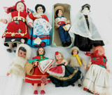 GOOD JOB LOT VINTAGE WORLD DOLLS. REXARD, LELA, MAQIS, UNBRANDED ETC ETC