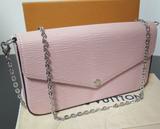 LOUIS VUITTON FÉLICIE POCHETTE Epi Leather Shoulder / Hand Bag M62467