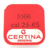 VINTAGE CERTINA PART CAL. 25-65 REF 5166 4 in PK / UNOPENED ORIGINAL PACK.