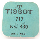 VINTAGE TISSOT CAL. 717 PART 430 5 SPRINGS / UNOPENED ORIGINAL PACK.