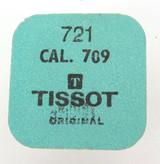 VINTAGE TISSOT CAL. 709 REF. 721 BALANCE WHEEL / UNOPENED ORIGINAL PACK.