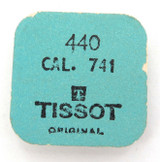 VINTAGE TISSOT CAL. 741 REF. 440 5 YOKE SPRINGS / UNOPENED ORIGINAL PACK.