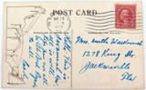 "SCARCE 1928 ""S.S. ALLEGHANY"" MERCHANTS & MINERS TRANSPORTATION Co. POSTCARD."