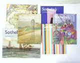 Sotheby's Auction catalogues. Group lot 2002, 2003 & Rare 1986