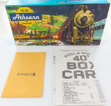 VINTAGE H/0 ATHEARN #1201 40ft BOX CAR GM&O OUTER BOX & INSTRUCTIONS.