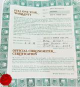 1990s OBSOLETE ROLEX REF. 69178 LADIES DATEJUST WARRANTY