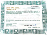 1980s OBSOLETE ROLEX REF. 67194 LADIES OYSTER PERPETUAL WARRANTY