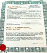 1980s OBSOLETE ROLEX REF. 69173 CASE 8078757 LADIES DATEJUST WARRANTY