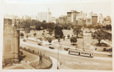 c1940s REAL PHOTO POSTCARD HYDE PARK, SYDNEY, NSW.