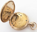 A Crisp C.1885 Waltham Royal 14K Gold 11 Jewel Ladies 8s Pocket Watch - Serviced