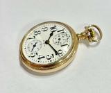 A Wonderful C.1915 Elgin Veritas 16s 23 Jewel Up Down 50mm OF Pocket Watch