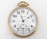1927 Hamilton 21 Jewel G/F OF Railroad Cal 992 Size 16s Pocket Watch