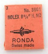 VINTAGE ROLEX / RONDA No 3601 BALANCE STAFF