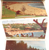 1940s MURRAY VIEWS COLOUR FOLDOUT SOUVENIR OF SYDNEY