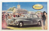 SCARCE VINTAGE WOLSELEY MOTORING PROMOTIONAL CARD / POSTCARD