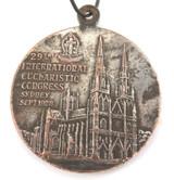 SCARCE 1928 29TH INTERNATIONAL EUCHARISTIC CONGRESS, SYDNEY LARGE MEDAL.