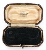 c1920s TOM EVANS, CARDIFF, WALES HEAVY SET JEWELLERS BOX.