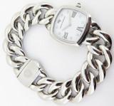 David Yurman Albion Stainless Steel Diamond Dial Ladies Watch T932-M +Box