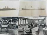 6 VINTAGE REAL PHOTO POSTCARDS RPPC. NAUTICAL / SHIPS.