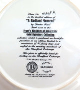 BRADEX LIMITED EDITION COLLECTORS PLATE + BOX + COA. A RADIANT MOMENT