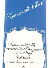 ANNA PERENNA LIMITED EDITION COLLECTORS PLATE + BOX + BROCHURE. ROMEO & JULIET.