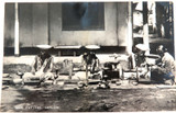 1940s RPPC REAL PHOTO POSTCARD, GEM CUTTERS, CEYLON.