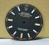 Authentic Rolex Milgauss 116400 Black Orange Dial #70