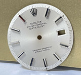 Vintage Rolex Datejust Silver Step Dial 1601 - Authentic #190