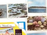 SELECTION VINTAGE GREEN ISLAND, QLD TOURIST EPHEMERA. COLOUR PHOTOS, POSTCARDS