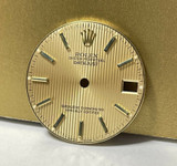Rolex Datejust Mid Size Tapestry Gold Dial & Hands 68273 78273 #30