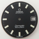 Omega Seamaster 200 Date SHOM Dial for c.1012 064PP1770001- NEW OLD STOCK