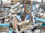 EXCELLENT LARGE JOB LOT 160 VINTAGE WORLD POSTCARDS. A LOT of REAL PHOTO.