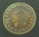 1837 HARD TIMES USA TOKEN. MILLIONS FOR DEFENCE NOT ONE CENT FOR TRIBUTE.