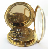 Antique Benedict & Benedict NY 18K Yellow Gold Lever Pocket Watch