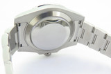 Auth 2012 Rolex Ceramic Submariner Steel Wrist Watch Full Box Set 116610LN