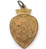 SCARCE 1911 BURGH of PARTICK, SCOTLAND CORONATION SOUVENIR FOB.