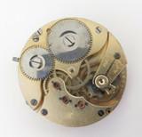 IWC SS & CO Stauffer & Co Peerless Swiss Lever Pocket Watch Movement & Dial