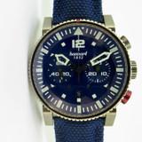2020 Hanhart Primus Nautic Pilot Bronze Ltd Ed Chronograph Watch Box & Docs