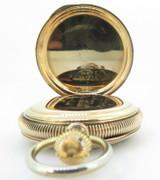 Antique 1897 Elgin 14K Solid Gold B.W Raymond 18s 17 Jewel OF Pocket Watch