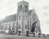 1907 BROKEN HILL CATHEDRAL POSTCARD. PRODUCED BY J BROKENSHIRE