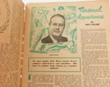OCT 30, 1946 AUSTRALIAN NEW IDEA MAGAZINE. BUSHELLS TEA ADVERT TO REAR.