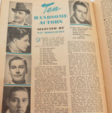 OCT 16, 1946 AUSTRALIAN NEW IDEA MAGAZINE. BUSHELLS TEA ADVERT TO REAR.