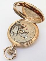 A Wonderful C.1879 Elgin 16s 21J Grade 72 Convertible 14K Gold Pocket Watch