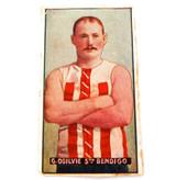 AFL VFL. 1907 SNIDERS COUNTRY PLAYERS CARD. G OGILVIE, STH BENDIGO.