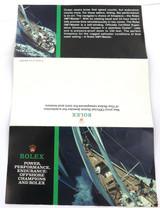 1987 ROLEX MENS GMT-MASTER COLOUR BROCHURE.