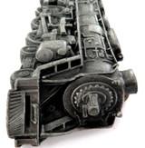 1978 STUNNING HEAVY SET RAILROAD STEAM ENGINE LARGE BELT BUCKLE.