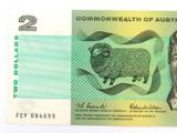 AUSTRALIAN 1966 R81 COOMBS WILSON C of A $2 UNC NOTE. FCY PREFIX.