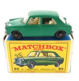 VINTAGE MATCHBOX SERIES 64 MG 1100 DIECAST + ORIGINAL BOX.