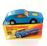 VINTAGE MATCHBOX SERIES NEW 65 SAAB SONETT III DIECAST CAR + ORIGINAL BOX